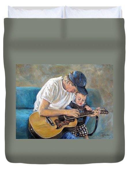 In Memory Of Baby Jordan Duvet Cover by Donna Tucker
