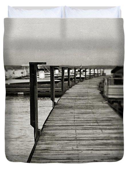 In Stillness Duvet Cover by Lisa Russo
