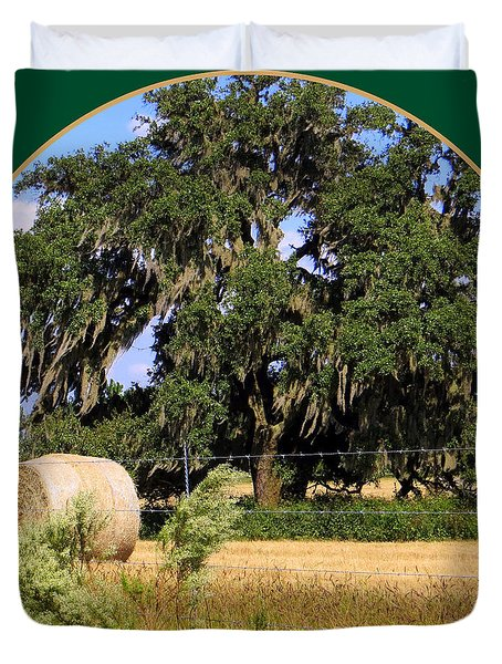 In the Country Duvet Cover by Dorothy Menera