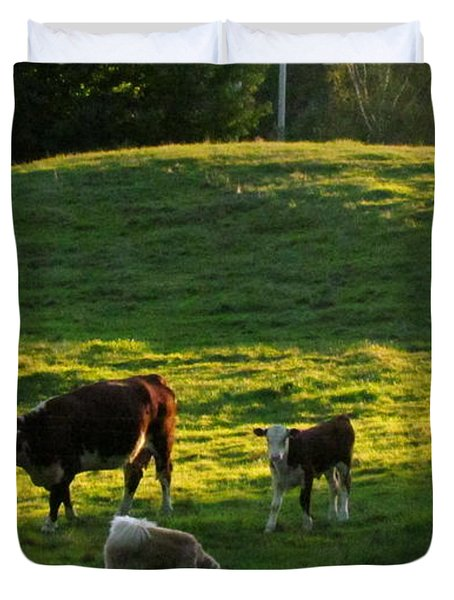 In The Field Duvet Cover by Randi Shenkman