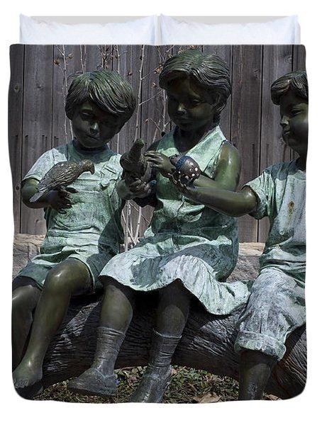 In The Garden Duvet Cover by Liane Wright