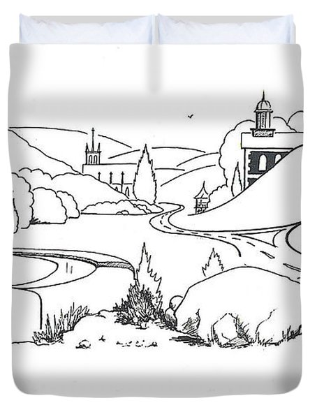 In the Land of Brigadoon  Duvet Cover by Kip DeVore