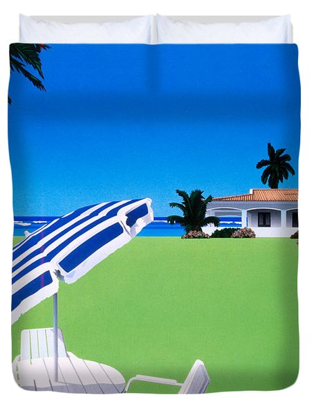 In The Shade Duvet Cover by David Holmes