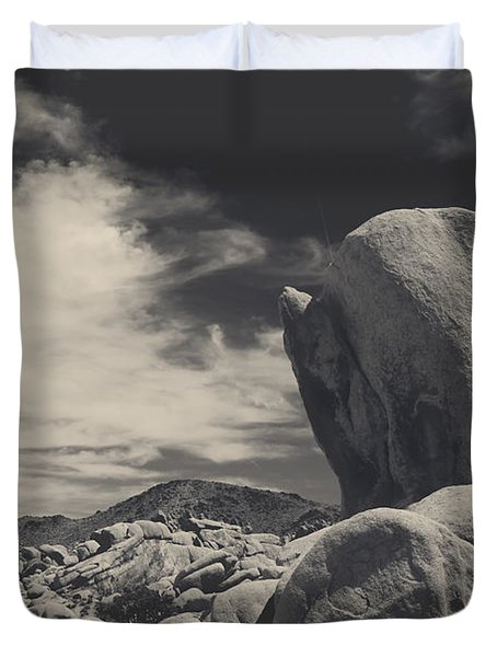 In This Strange Land Duvet Cover by Laurie Search