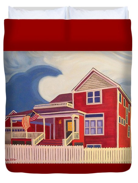 Independence Day Duvet Cover by Ruth Soller