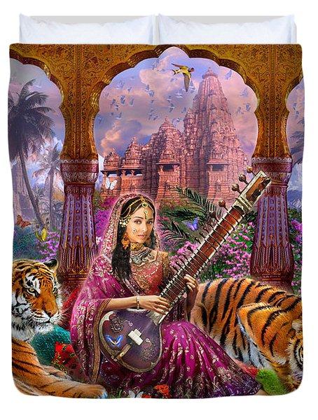 Indian Harmony Duvet Cover by Jan Patrik Krasny