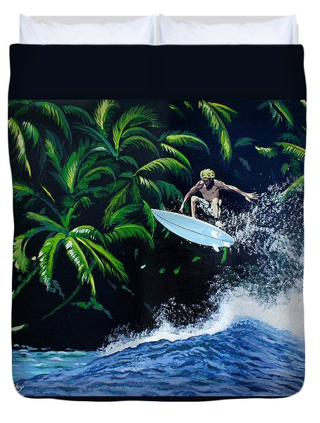 Indonesia Duvet Cover by Chikako Hashimoto Lichnowsky