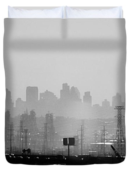 Industrial And Corporate Duvet Cover by James Aiken