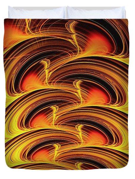 Inferno Duvet Cover by Anastasiya Malakhova