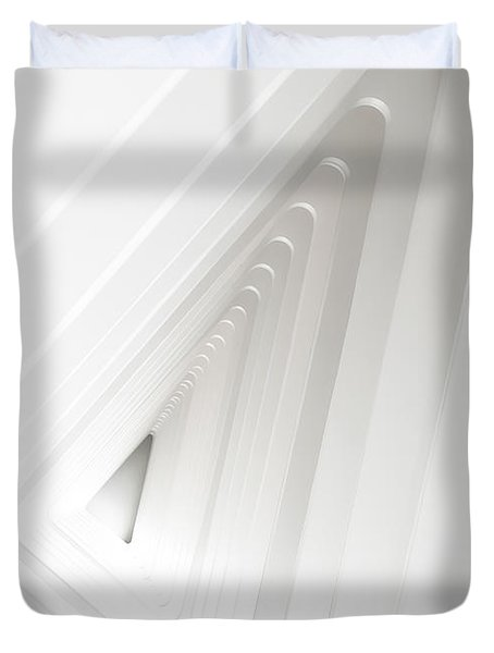 Infinite Arches Duvet Cover by Scott Norris