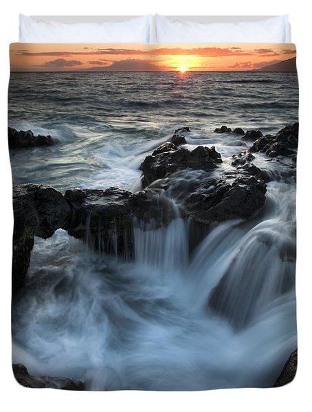 Influx Duvet Cover by Mike  Dawson