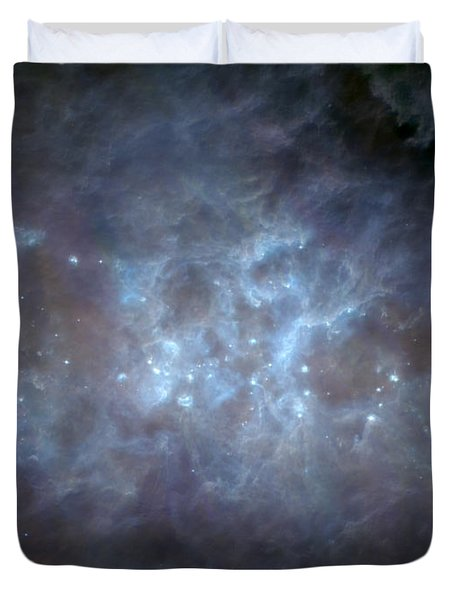 Duvet Cover featuring the photograph Infrared View Of Cygnus Constellation by Science Source