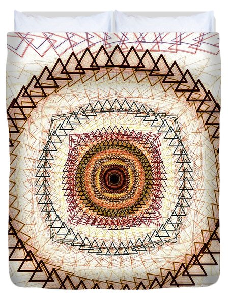 Inner Purpose Duvet Cover by Anastasiya Malakhova