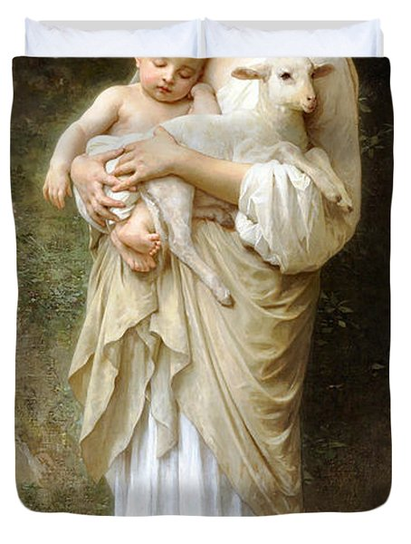 innocence Duvet Cover by William Bouguereau