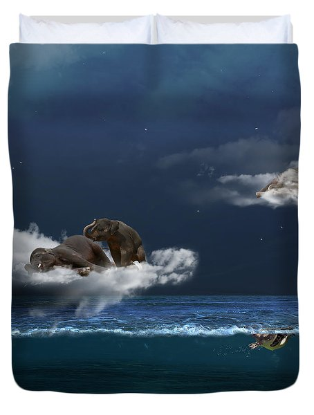 Insomnia Duvet Cover by Martine Roch