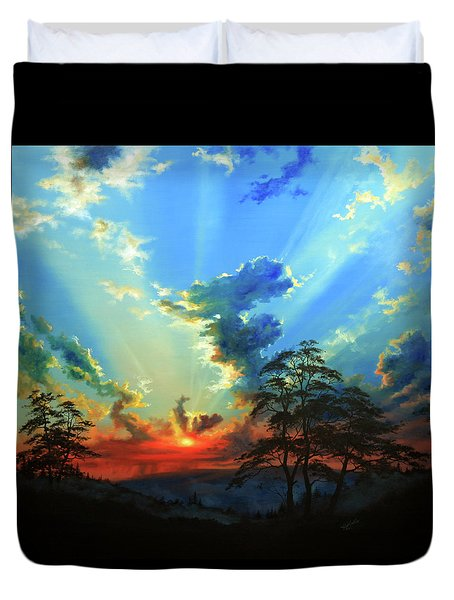 Inspiration Duvet Cover by Hanne Lore Koehler