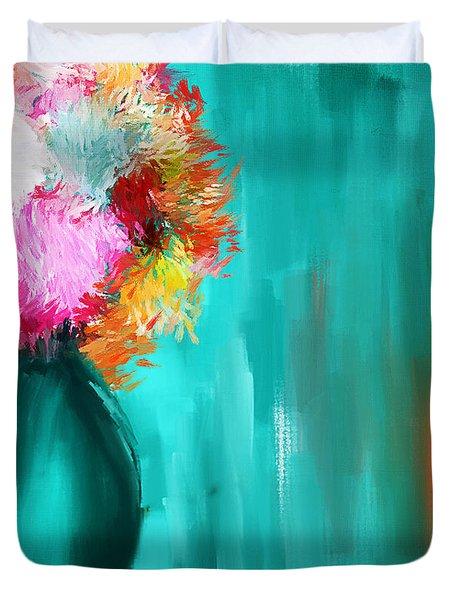 Intense Eloquence Duvet Cover by Lourry Legarde