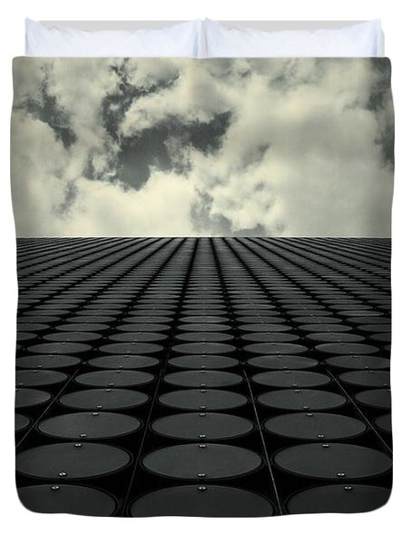 Interdimensional Duvet Cover by Andrew Paranavitana