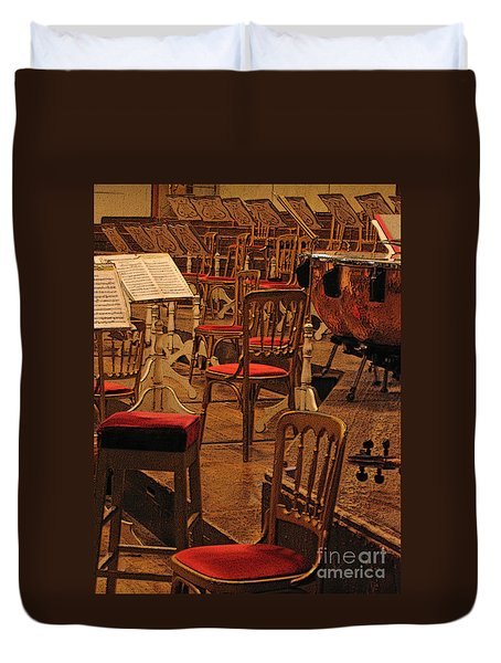 Intermission Duvet Cover by Ann Horn