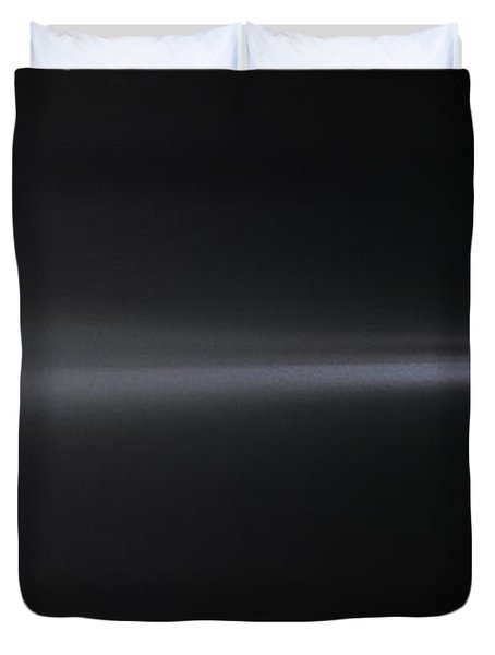 Into The Foggy Night Duvet Cover by Marty Saccone