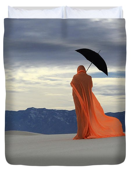 Into The Mystic 5 Duvet Cover by Bob Christopher