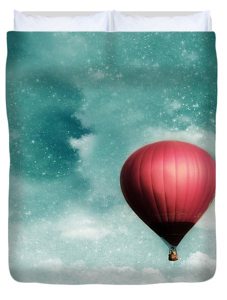 Into the Night Duvet Cover by Amy Tyler