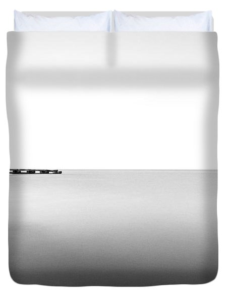 Into The Nothing Duvet Cover by CJ Schmit