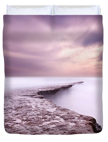 Into The Ocean Duvet Cover by Jorge Maia