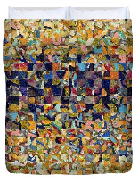 Into the Rubble We Walk Duvet Cover by Jennifer Lommers