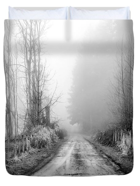 Into The Unknown Duvet Cover by Rory Sagner