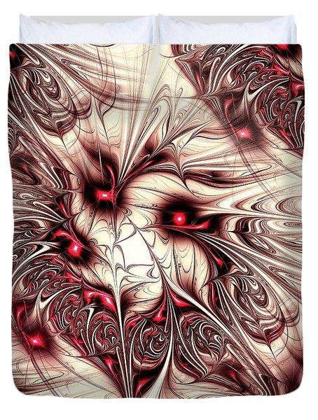 Invasion Duvet Cover by Anastasiya Malakhova