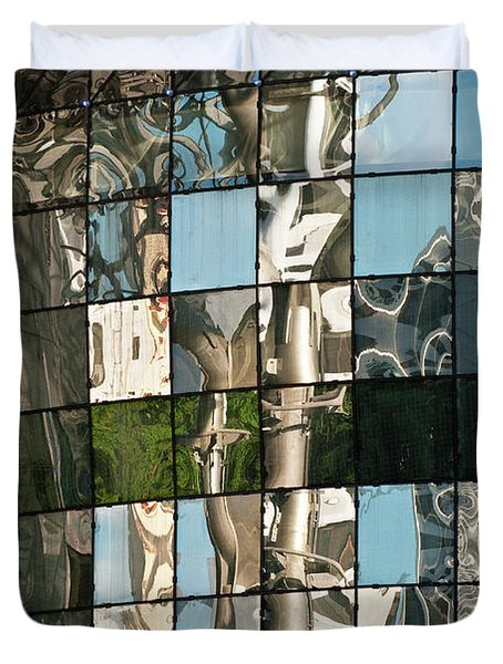 Ion Orchard Reflections Duvet Cover by Rick Piper Photography