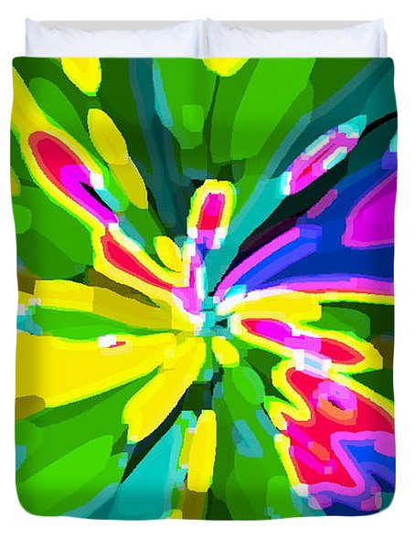 IPHONE CASES COLORFUL FLOWERS ABSTRACT ROSES GARDENIAS TIGER LILY FLORALS CAROLE SPANDAU CBS ART 181 Duvet Cover by CAROLE SPANDAU