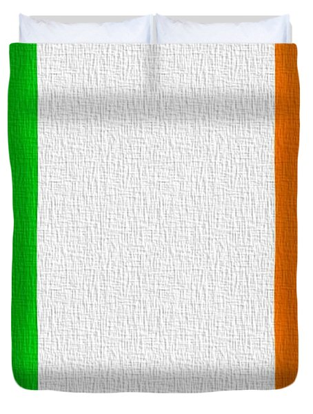 Ireland Flag Duvet Cover by Dan Sproul