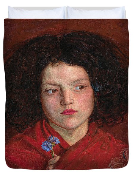 Irish Girl Duvet Cover by Philip Ralley