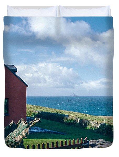 Irish School House Duvet Cover by David Lange