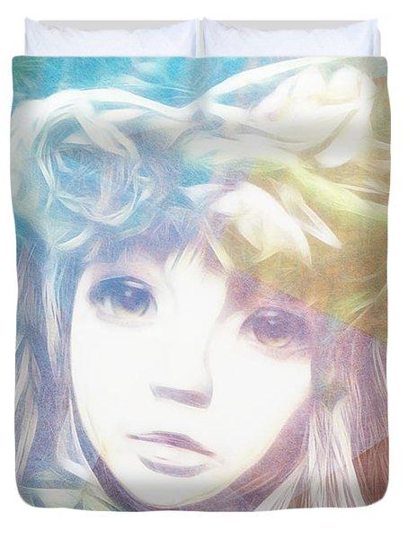 Isangelle Clariscendre Duvet Cover by Barbara Orenya