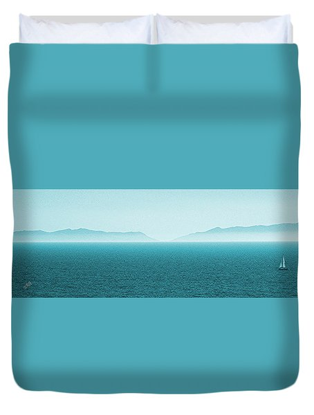 Island Duvet Cover by Ben and Raisa Gertsberg