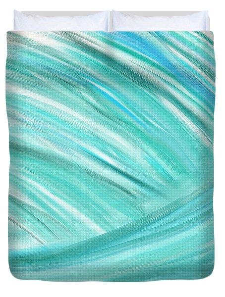 Island Time Duvet Cover by Lourry Legarde