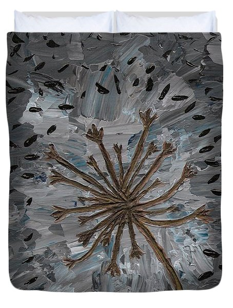 Isolation Vacuus Vos Duvet Cover by Vicki Maheu