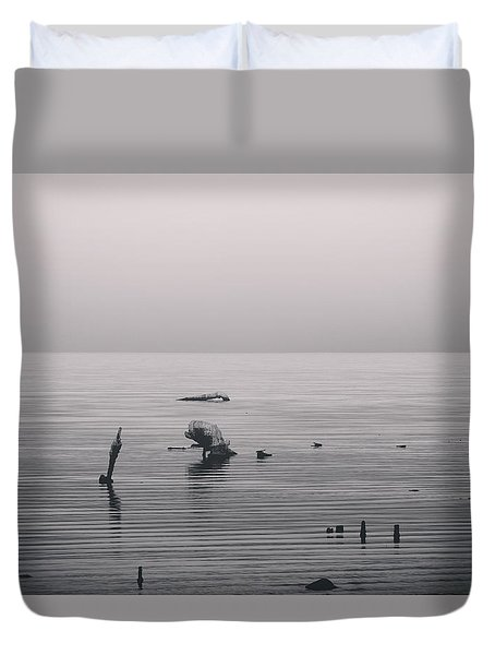 It Was Lonely There Duvet Cover by Laurie Search