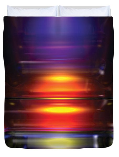 Its A Primary Thing Duvet Cover by James Kramer