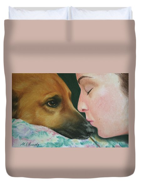 It's Alright Duvet Cover by Marna Edwards Flavell