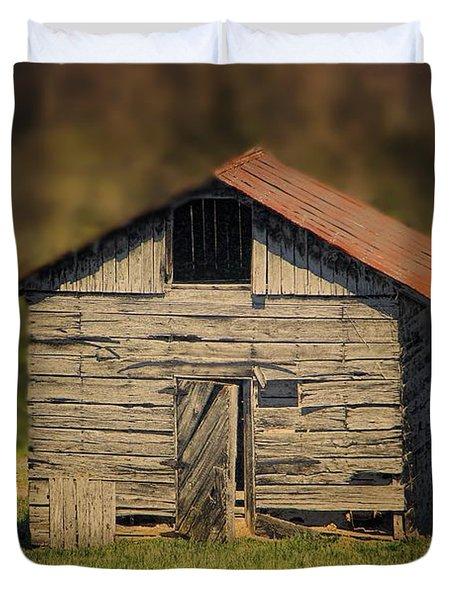 Itsy Bitsy Cabin Duvet Cover by EricaMaxine  Price