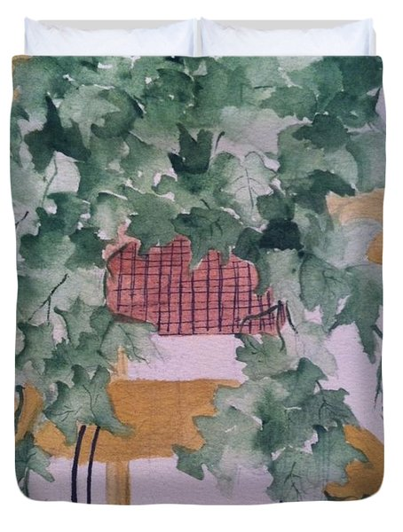 Ivy Duvet Cover by Sherry Harradence