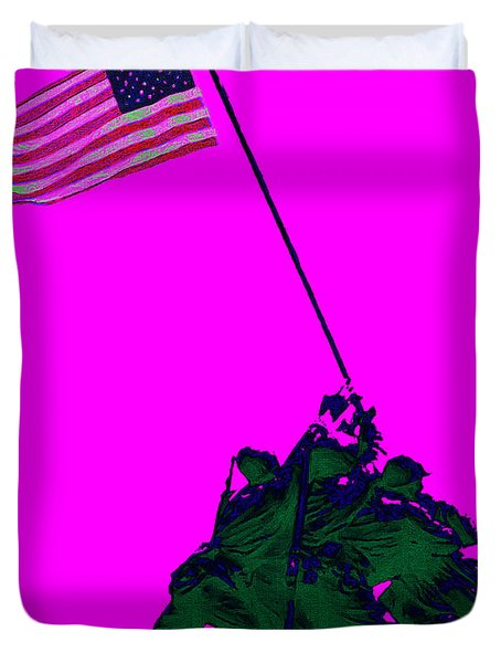 Iwo Jima 20130210 Duvet Cover by Wingsdomain Art and Photography