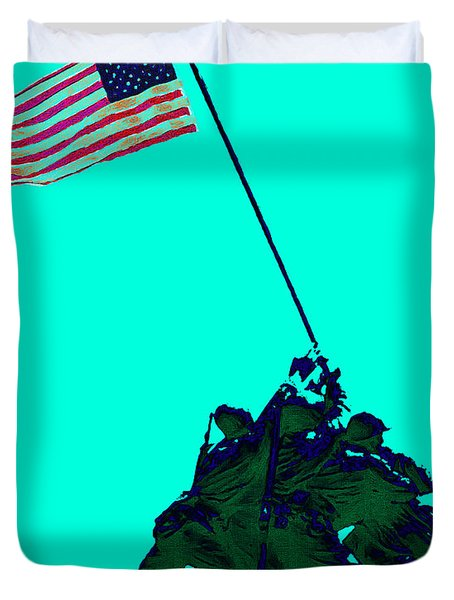 Iwo Jima 20130210m128 Duvet Cover by Wingsdomain Art and Photography