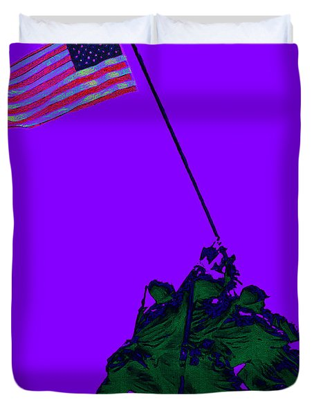 Iwo Jima 20130210m28 Duvet Cover by Wingsdomain Art and Photography