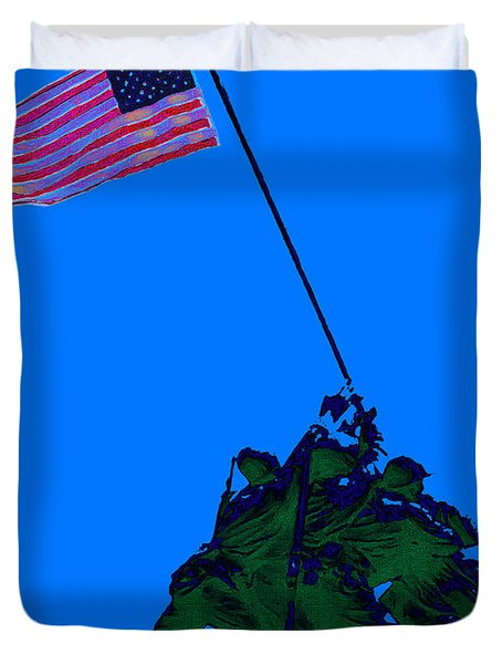 Iwo Jima 20130210m88 Duvet Cover by Wingsdomain Art and Photography