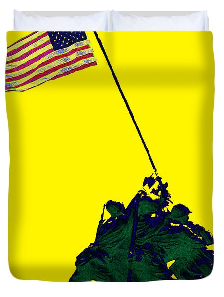 Iwo Jima 20130210p118 Duvet Cover by Wingsdomain Art and Photography